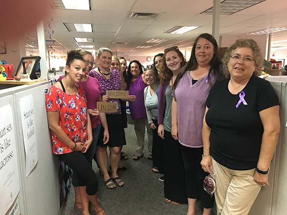180614 OCFS workers purple up